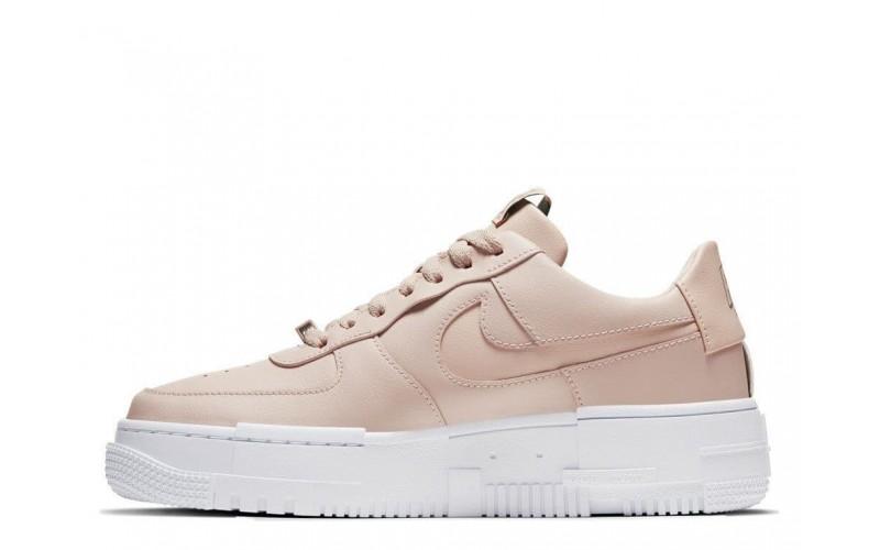Женские кроссовки Nike W Air Force 1 Pixel Beige (CK6649-200)
