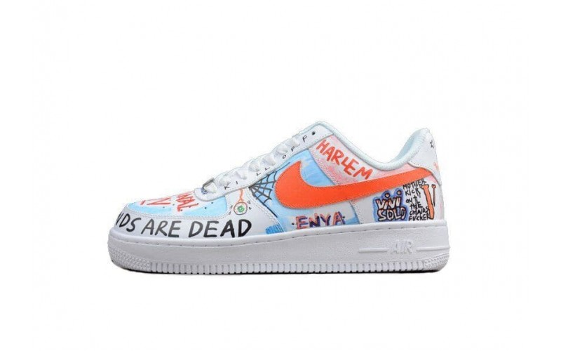 Кроссовки Nike Air Force Pauly x Vlone Pop 923066-100
