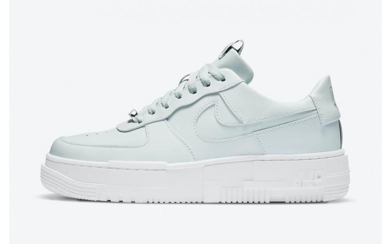 Женские кроссовки Nike Air Force 1 Pixel Ghost Aqua CK6649-400