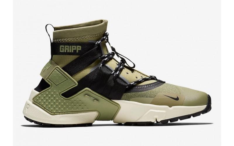 Мужские кроссовки Nike Air Huarache Gripp Neutral Olive - AO1730-200