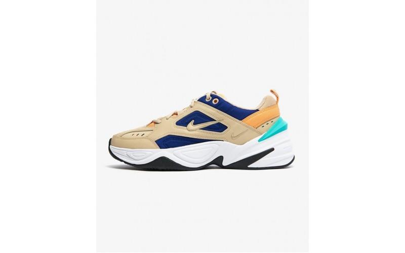 Женские кроссовки Nike wmns m2k tekno(desert ore/desert ore-deep royal blue) A03108-204