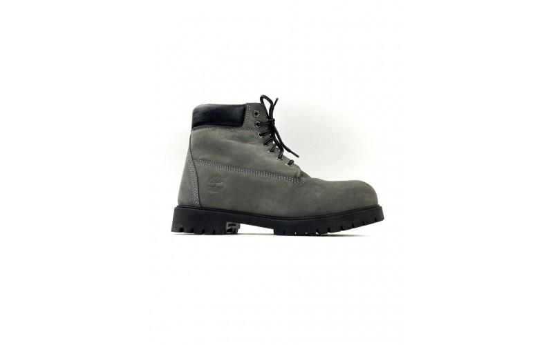 Ботинки Timberland 6-Inch Classic Premium Nubuck Waterproof Gray (Мех) 10061-016