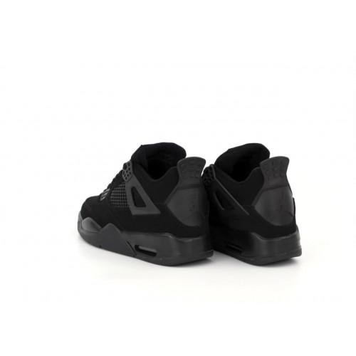Чоловічі кросівки Air Jordan 4 Retro Black Cat CU1110-010