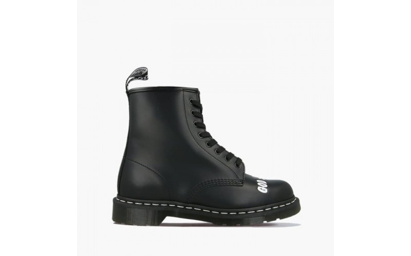 Ботинки Dr. Martens 1460 Sex Pistols Black Rolled Smooth 25927003