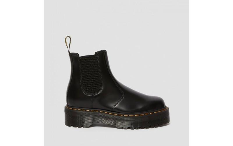 Женские ботинки Dr. Martens 2976 Platform Leather Chelsea Boots Black 24687001