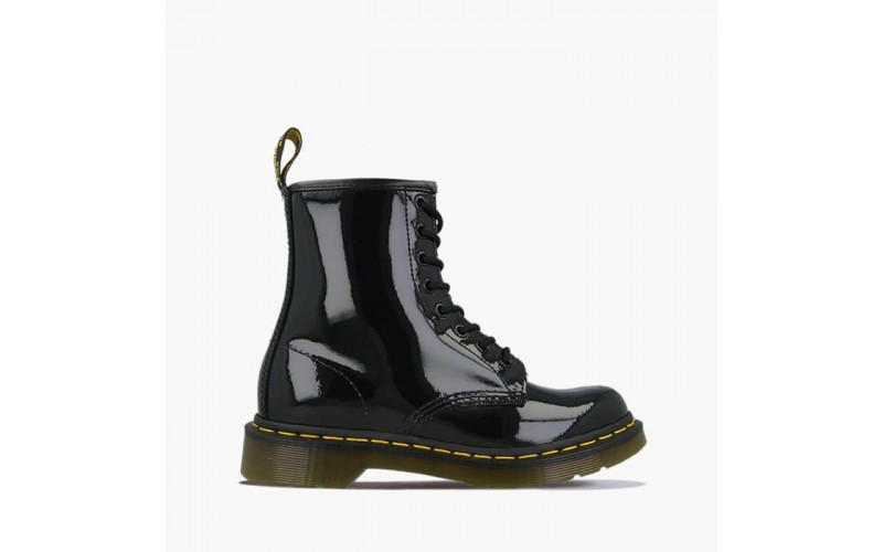 Женские ботинки Dr. Martens 1460 Black Gloss 11821011