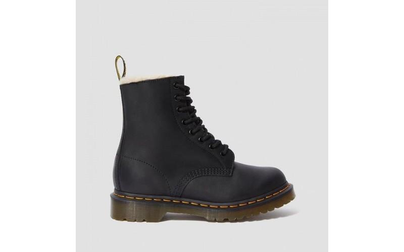 Мужские ботинки Dr Martens Fur Lined 1460 Serena Black 21797001