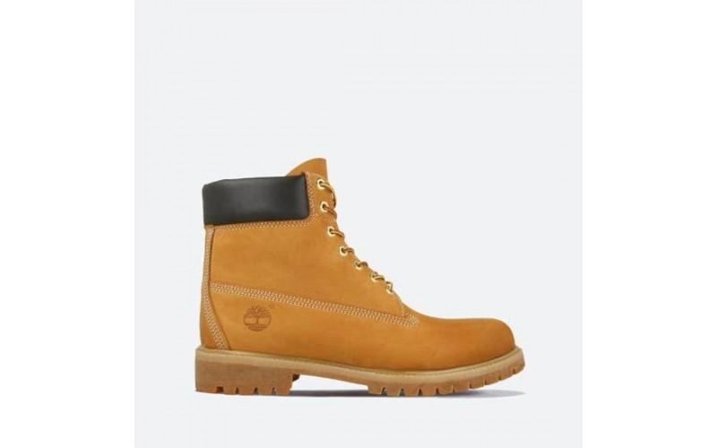 Ботинки Timberland 6-Inch Classic Nubuck Waterproof Yellow (Термо) 10061-004